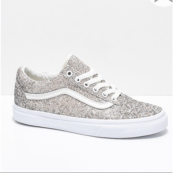Old Skool Chunky Glitter Skate Shoes from Vans